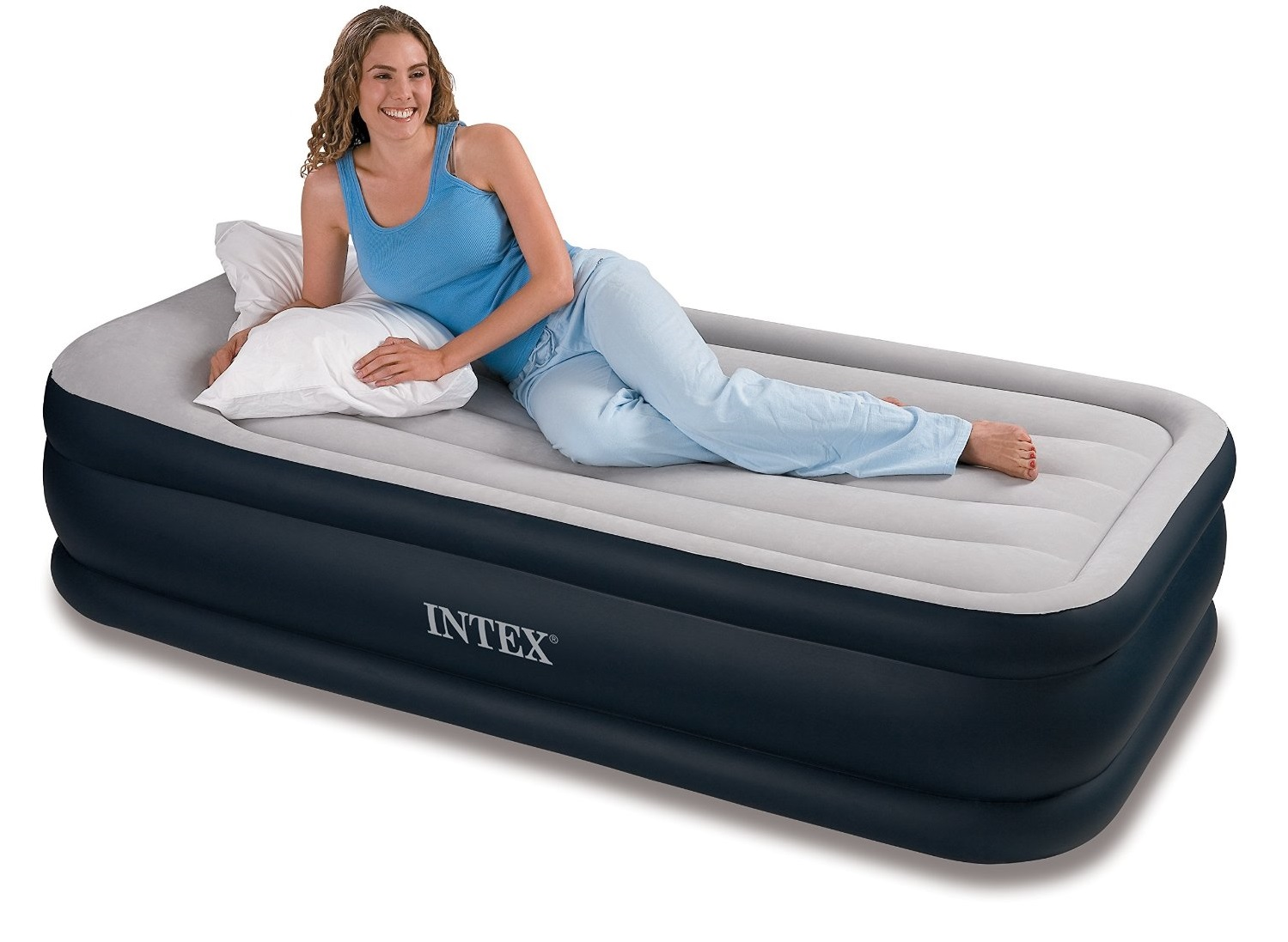 intext deluxe pillow rest raised airbed